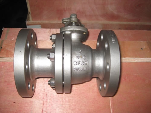 Flanged Floating Ball Valve