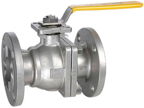 Natural Gas Flanged Ball Valve