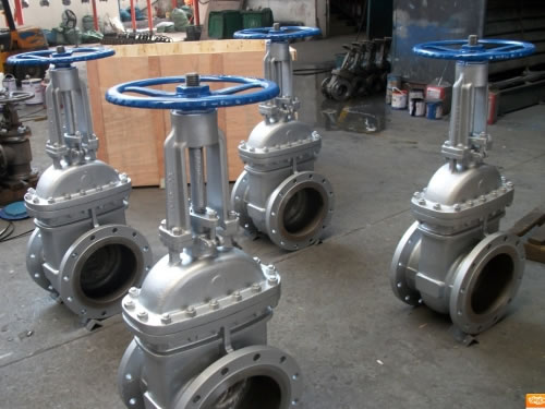 DIN Flanged Stainless Steel Gate Valve