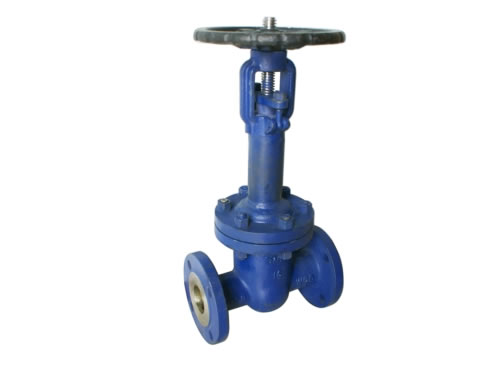 DIN Flanged Cast Steel Bellows Seal Gate Valve