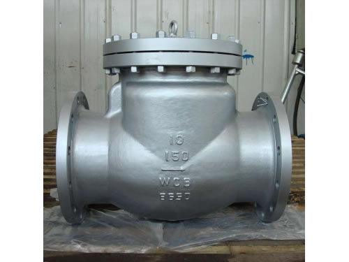 API Flanged Cast Steel Swing Type Check Valve