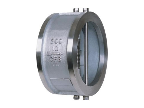 DIN Stainless Steel Dual Plate Wafer Type Check Valve