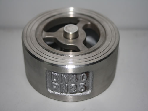 DIN Stainless Steel Lift Wafer Type Check Valve