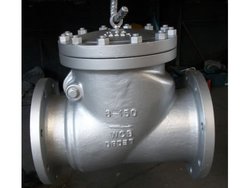 API Flanged Stainless Steel Swing Type Check Valve
