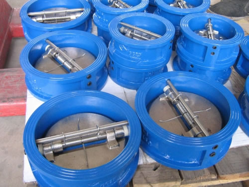 API Cast Steel Dual Plate Wafer Check Valve