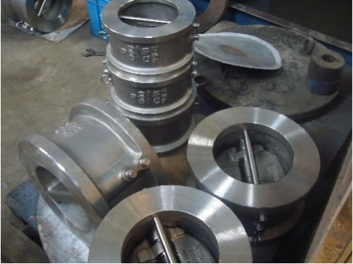 API Stainless Steel Dual Plate Wafer Check Valve