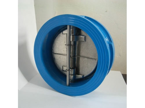 DIN Cast Steel Dual Plate Wafer Type Check Valve