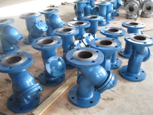 Flanged Y Strainers